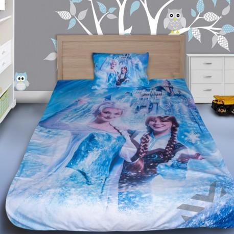 Детски спален комплект Фроузън 3D