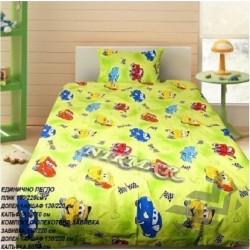 Детски спален комплект Мики Маус в зелено