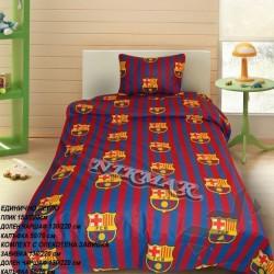 Детски спален комплект Маккуин в сиво