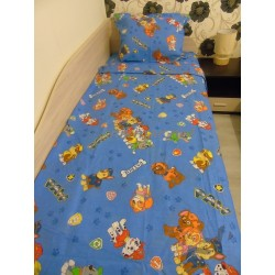 Детски спален комплект Маккуин в синьо