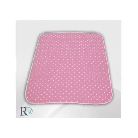 БЕБЕШКО памучно одеяло Розови точки